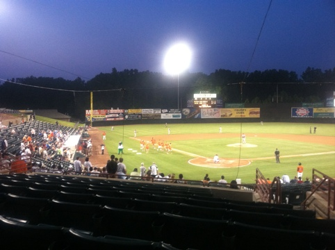 Prince George's County Stadium, Bowie, MD