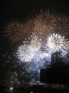 Fireworks at Angel Stadium, Anaheim, CA