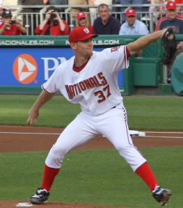 Stephen Strasburg's MLB debut, 2010