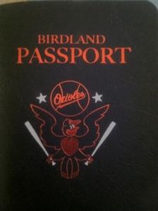 Birdland Passport