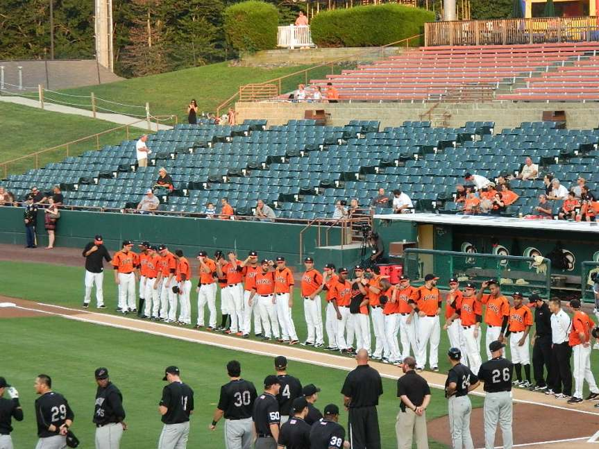 Bowie Baysox, Eastern League Playoffs, 2012
