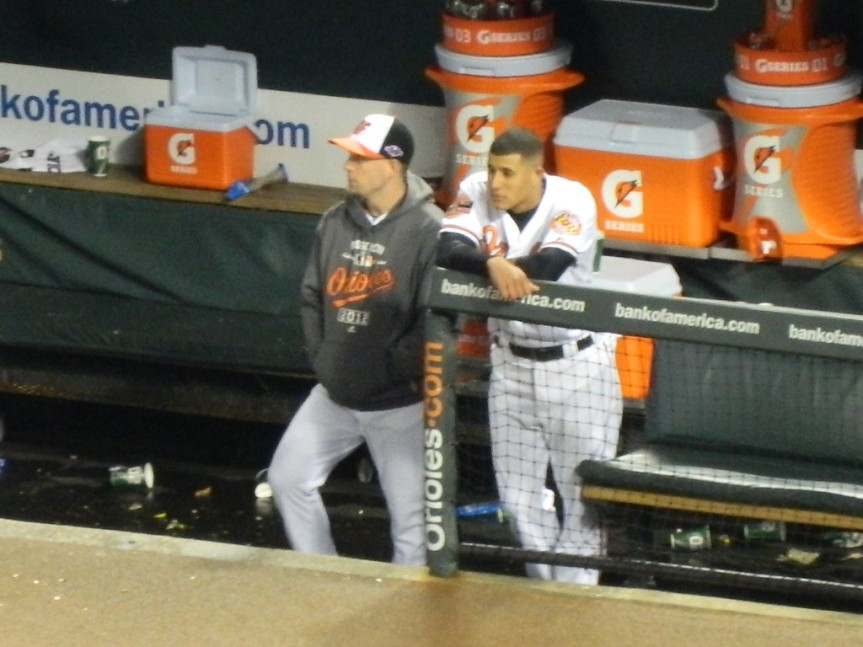 Manny Machado in the 2012 ALDS