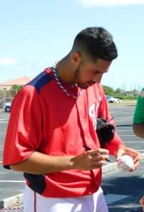 Gio Gonzalez, Spring Training, 2012