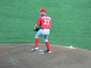 Stephen Strasburg, Spring Training 2012
