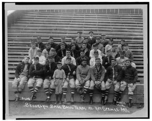 Brooklyn Dodgers Hot Springs 1912