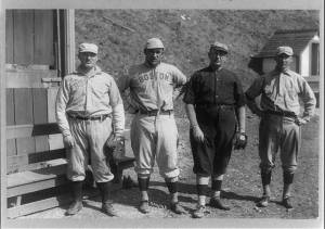 Spring training in Hot Springs, Arkansas, 1912