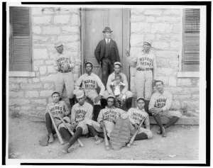 Morris Brown College Baseball Team, Atlanta, GA, ca. 1900