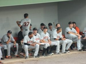 Frederick Keys at Potomac Nationals, 2012