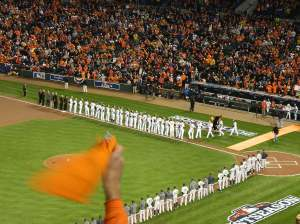 Fans at Camden Yards