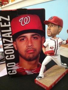 Gio Gonzalez bobblehead