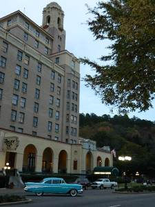The Arlington Hotel in Hot Springs, Arkansas.