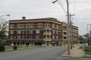 National Baptist Hotel, Hot Springs Arkansas, where Negro League teams stayed during spring training.