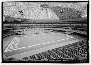 Interior of the Astrodome, Houston, TX