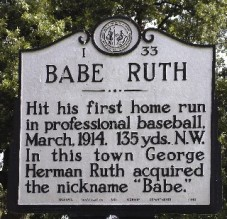 Historical Marker in Fayetteville, NC