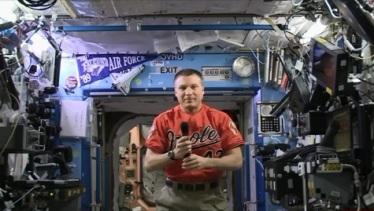oriole astronaut