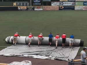 Potomac Nationals Grounds Crew, July 20, 2015