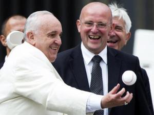 vatican-pope-baseball